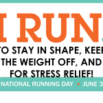 National Running Day Discounts