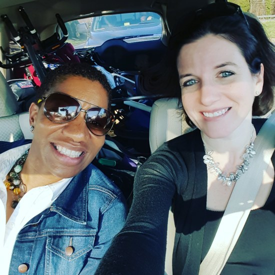 Fitcation car ride with Tamieka