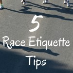 Five Race Etiquette Tips