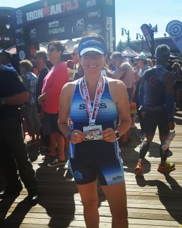 Ironman 70.3 Atlantic City finish