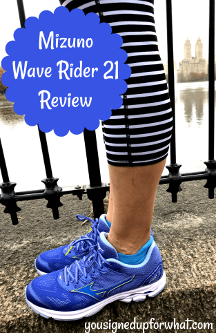 16999cfa515b Mizuno knew they had a good thing with the Wave Rider 20, and they decided  to make a few updates. I'm not a technical shoe guru – I tend to say things  ...