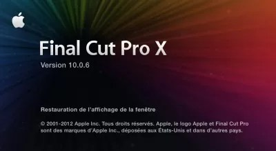 FCPX 10.0.6