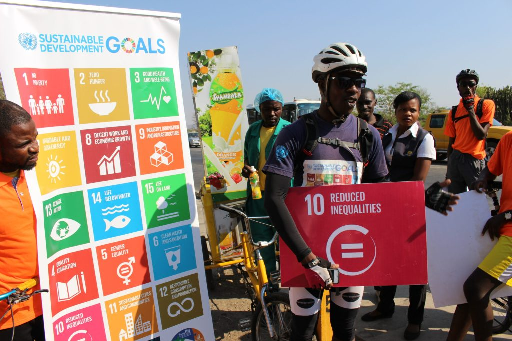 YBF-ZAMBIA-SUPPORTS-CYCLING-FOR-AWARENESS-CREATION-ON-THE-SUSTAINABLE-DEVELOPMENT-GOALS.