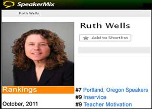 Top Ten Speaker Ruth Herman Wells