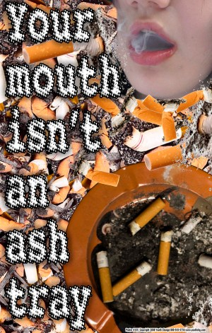 Classroom poster stops student smoking
