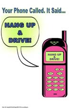 don't text and drive poster 165