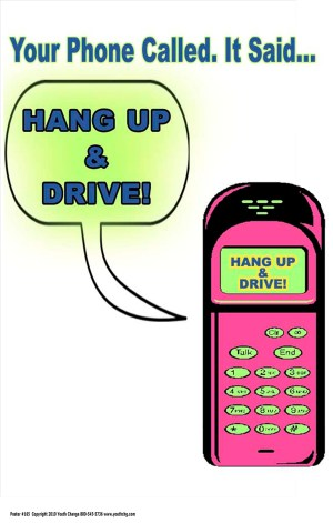 classroom cell phone poster