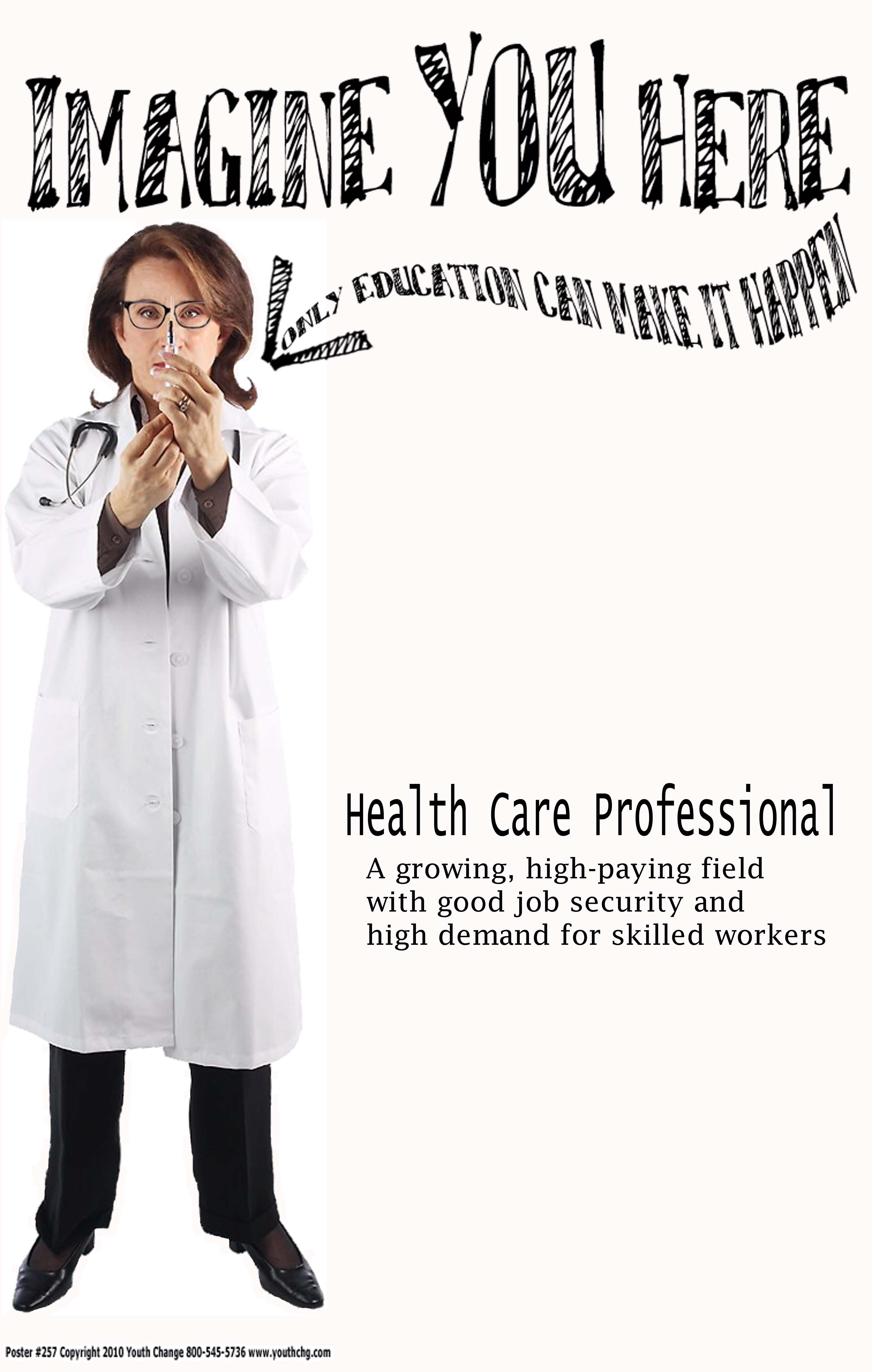 Career Vocational Education Posters For Schools