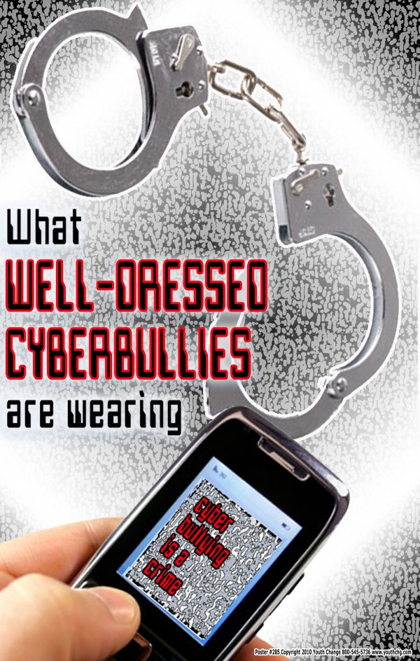 Posters prevent cyberbullying