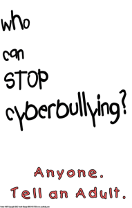 Cyber-bullying Poster