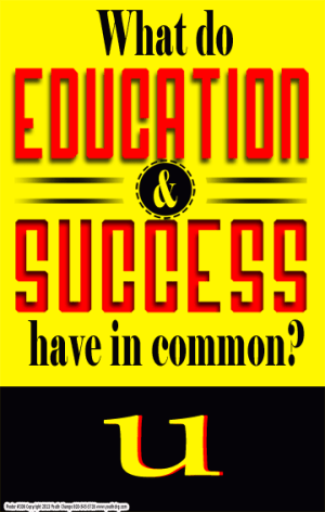 school success poster