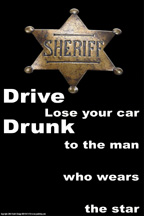 don't drive drunk poster 33