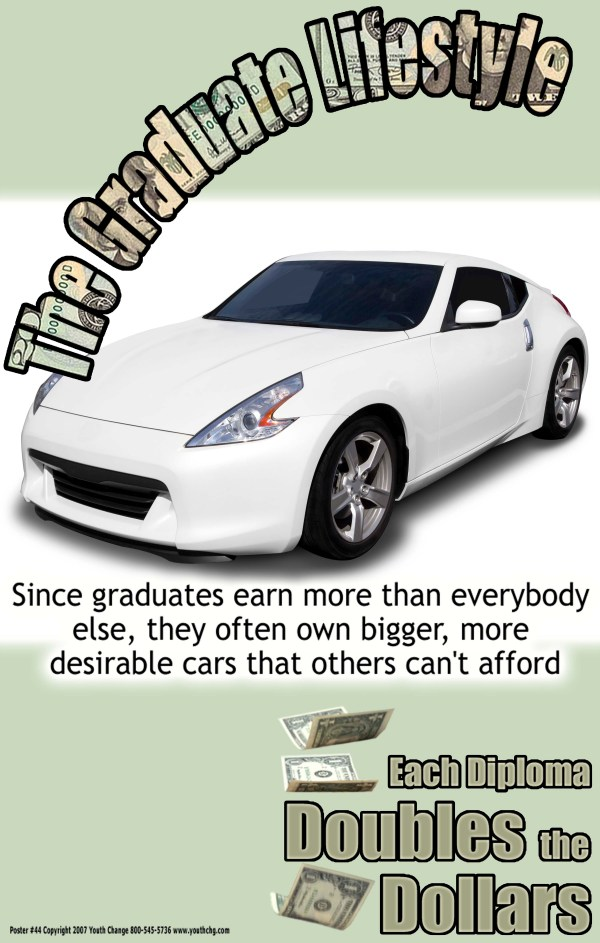 reduce dropout rate poster