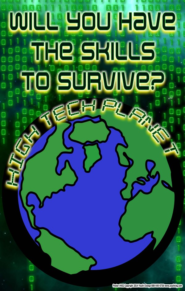 poster for technology and computer classrooms