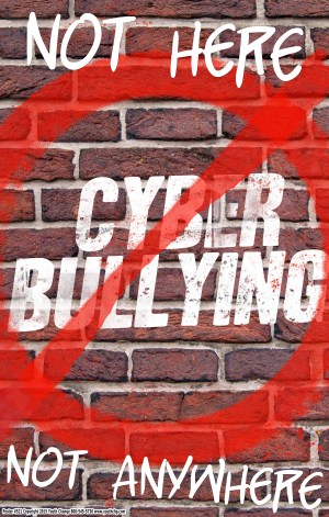 cyberbully prevention poster