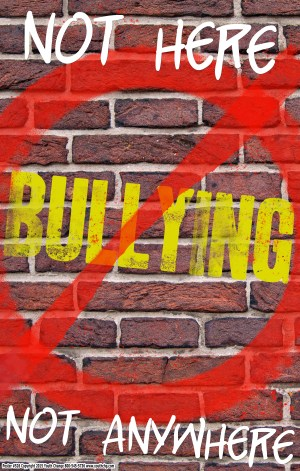 classroom bullying prevention poster