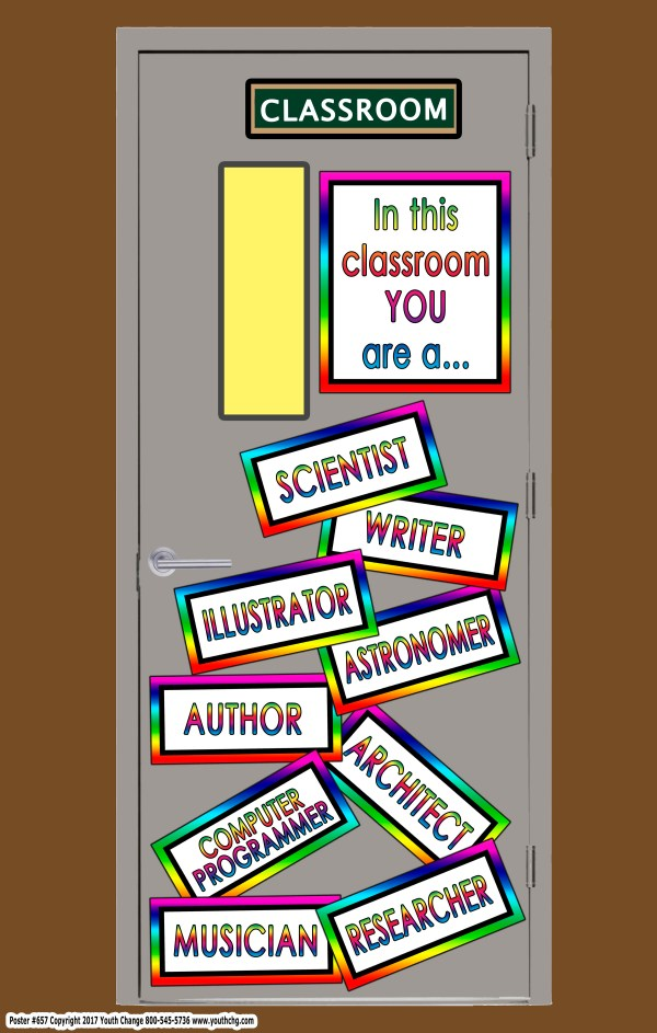 elementary school career poster