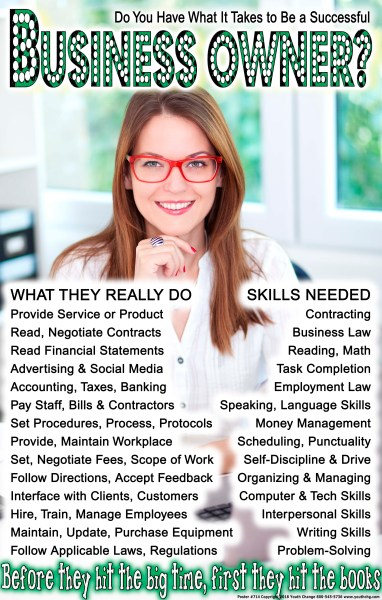 school career poster
