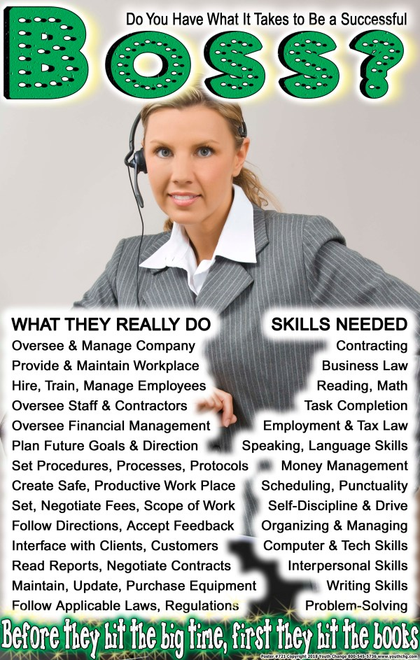 high school career poster