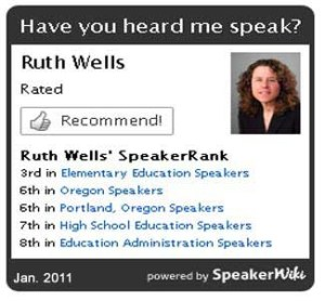top education speaker Ruth Herman Wells