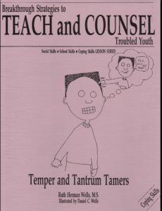 Temper and Tantrum Tamers lesson book