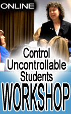 control uncontrollable students workshop