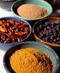 zahnverfärbung, färbende Lebensmittel, gewuerze
