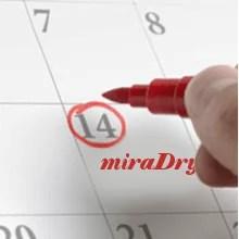 miraDry, Behandlungsablauf