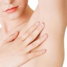 Schweißbehandlung, gegen Schwitzen, Schweißdrüsenverödung