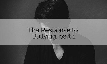 Youth Ministry Basics: The Response to Bullying