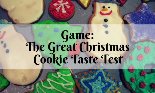 Game: The Great Christmas Cookie Taste Test