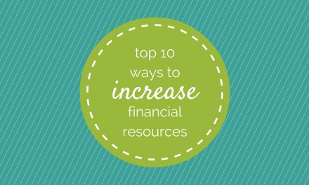 Servant Event: Top 10 Ways to Increase Financial Resources