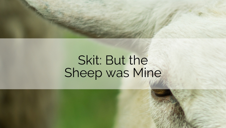 Skit: But the Sheep was Mine