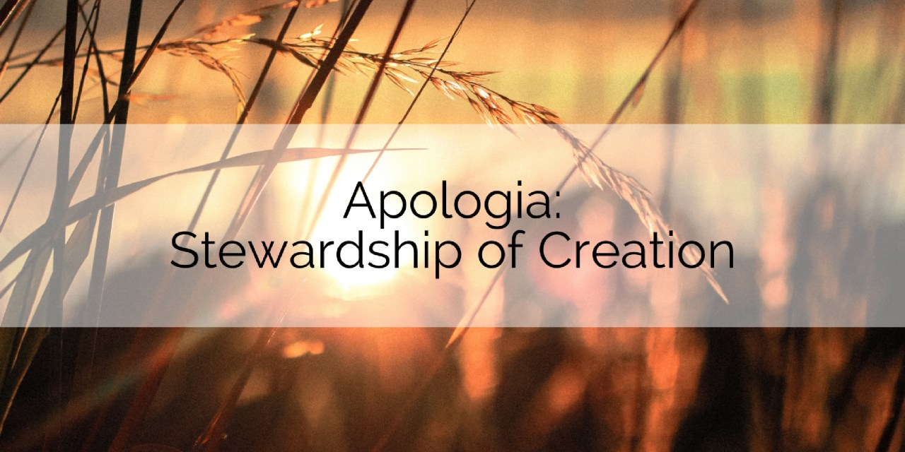 Apologia: Stewardship of Creation