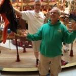 Steve Schwab and Dan Bolt — Inbound Student Orientation. Twin Rocks, Oregon