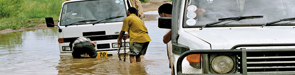 Brian's Column: The wet roads of Africa call for water safety tips!
