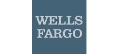 Wells Fargo Logo in Blue