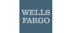Wells Fargo Logo in Blue