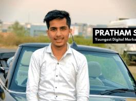 PRATHAM SINGH, youngest digital marketing guru