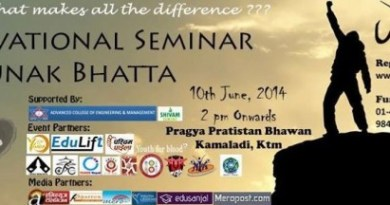 motivational seminar with saunak bhatta
