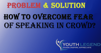 HOW TO OVERCOME FEAR OF SPEAKING IN CROWD?