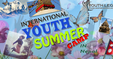 INTERNATIONAL YOUTH SUMMER CAMP NEPAL 2017