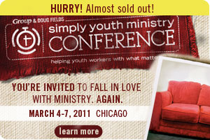 Simply Youth Ministry Conference 2011