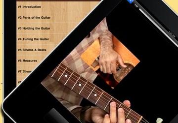 Learn to Play Guitar on iPad