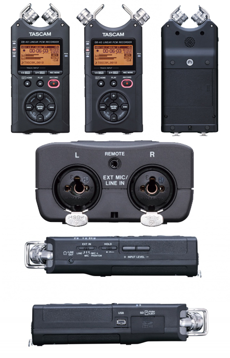 Tascam DR-40: Professional Portability