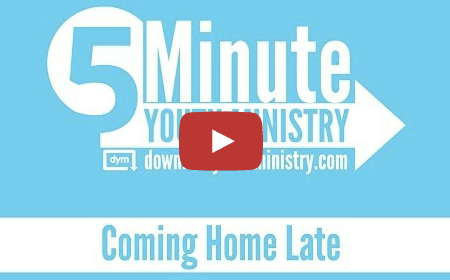 New Video Series: 5-Minute Youth Ministry