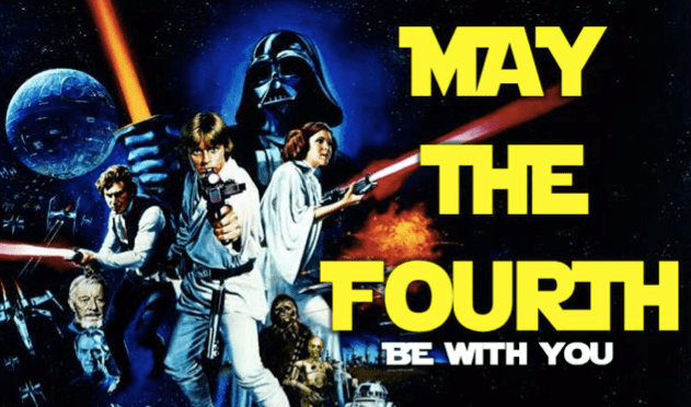 FREE – May the 4th Be with You Star Wars Game/Scorecard from DYM