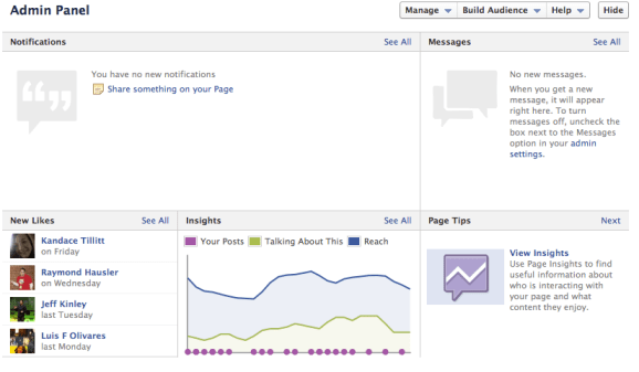 New and Improved Facebook Admin