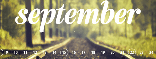 september youth ministry calendar