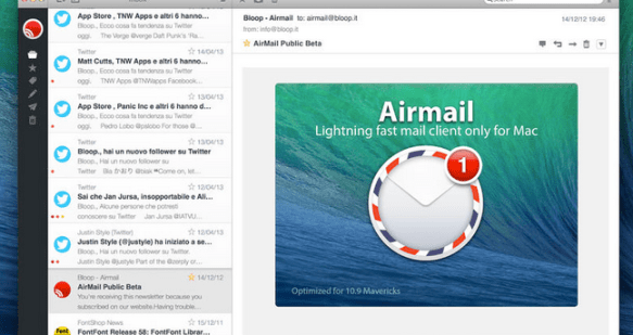air mail email program review